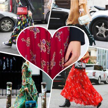 rochii din voal cu imprimeu in tendinte primavara 2017