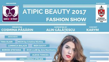 Afis Atipic Beauty Iasi 2017